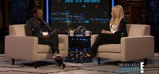 Wil.I.Am & Chelsea Handler Screen Capture: MrWorldPremiere.Net