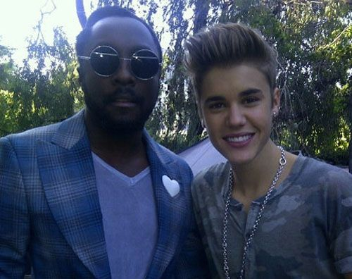 Will.I.Am & Justin Bieber Photo: HipHopWired.com