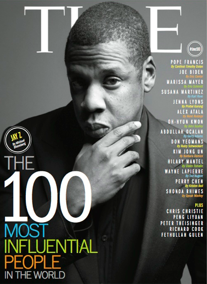 JayZ Photo: Time Magazine