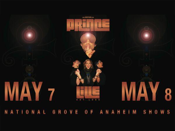 PRINCE 3rdEyeGirl Anaheim Poster Design By LV