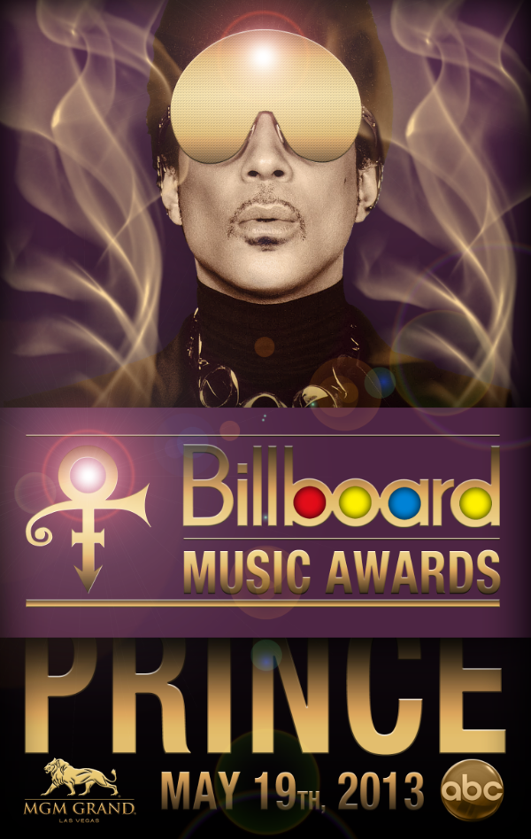 PRINCE Billboard Poster By LV