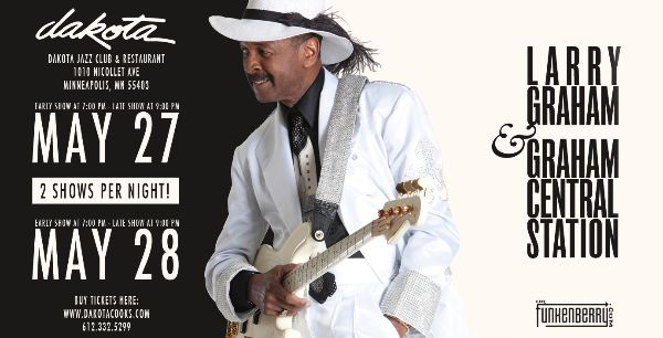 Larry Graham Promo Image By LV