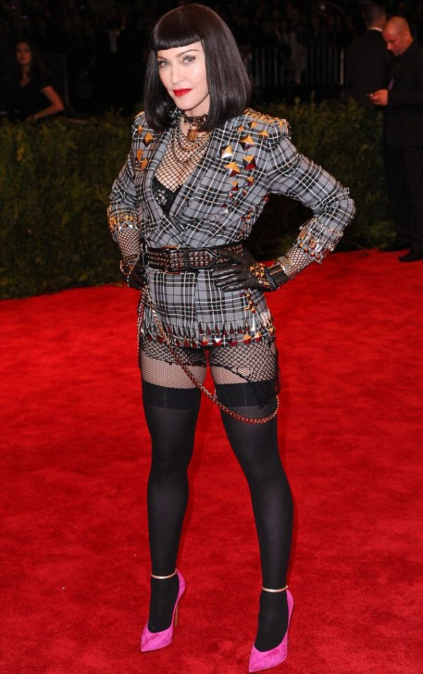 Costume Institute Gala Benefit celebrating the Punk: Chaos To Couture exhibition, Metropolitan Museum of Art, New York, America - 06 May 2013 Pic: David Fisher/ Rex Features