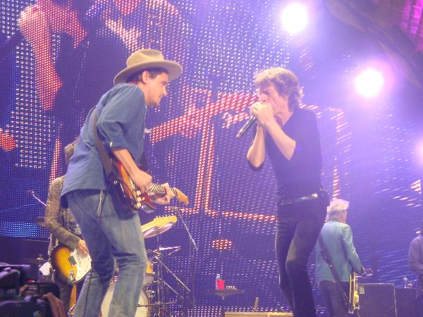 John Mayer & The Rolling Stones Photo: Latisha Alsys
