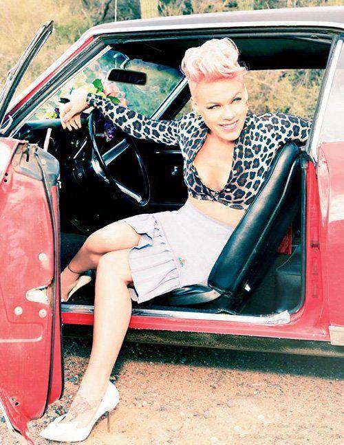 Pink Photo: Glamour Magazine Ellen Von Unwerth
