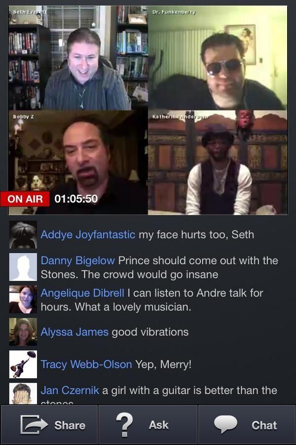 Seth, Doc, Bobby Z, & Andre Cymone Screencap: Baron
