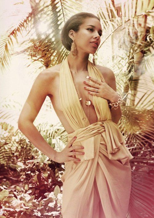 Alicia Keys Photo: Yu Tsai for Marie Claire UK