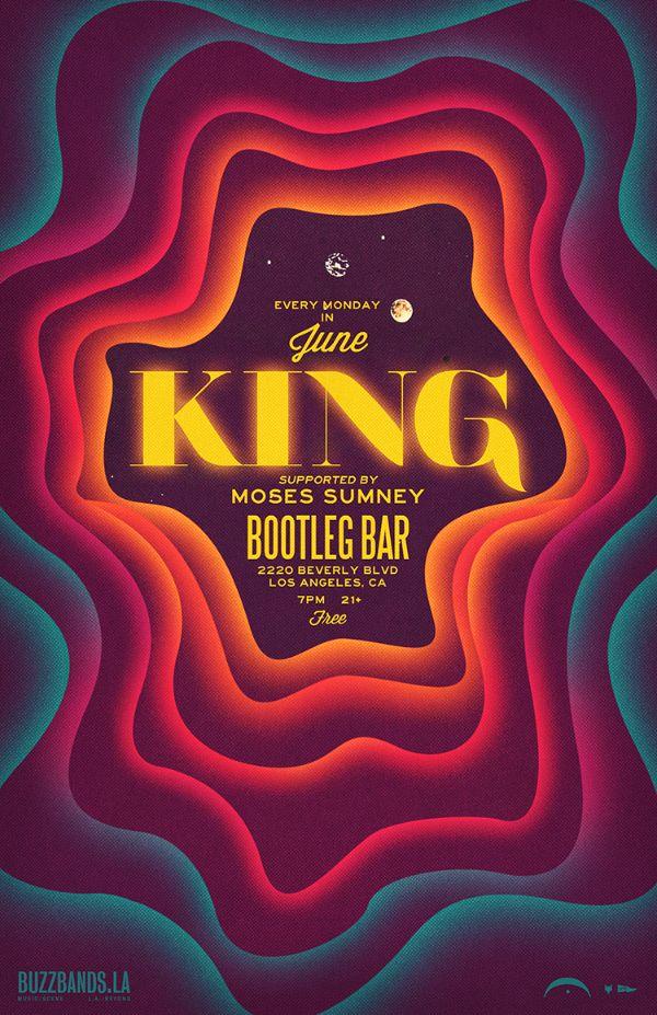 King Promo Flyer