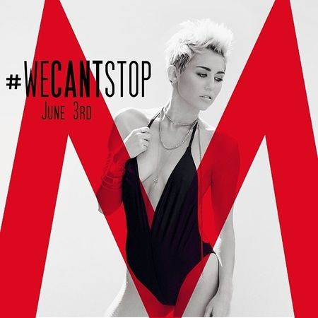 Miley Cyrus #WeCantStop Cover