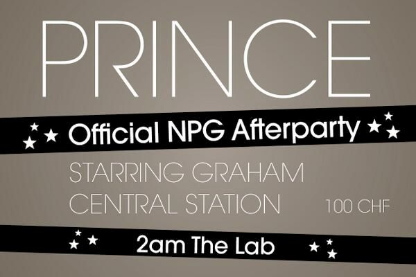 Prince NPG Montreux AfterJam Night 1 Photo: Montreux Jazz Twitter