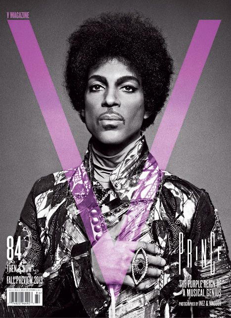 Prince V Cover PHOTOGRAPHY INEZ & VINOODH