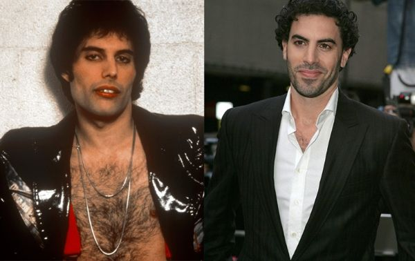 Freddie Mercury/Sacha Baron Cohen Photos: Vogue.IT