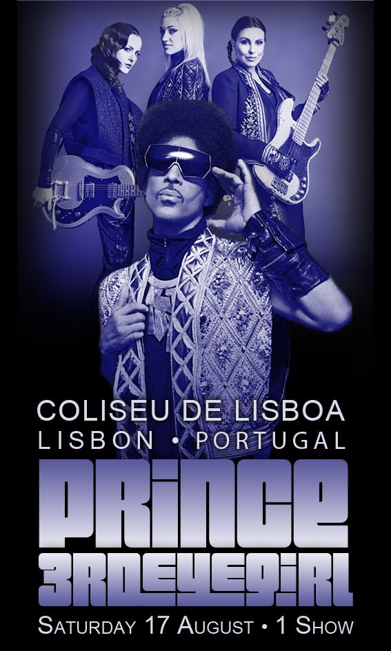 Prince 3rdEyeGirl Lisboa Image By LV