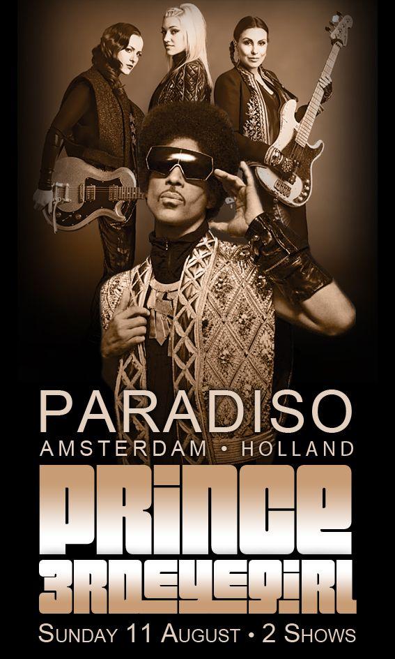 Prince 3rdEyeGirl Paradiso Image By LV