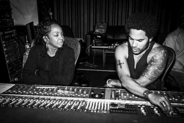 Gladys Knight & Lenny Kravitz  Photo: Mathieu Bitton 2013