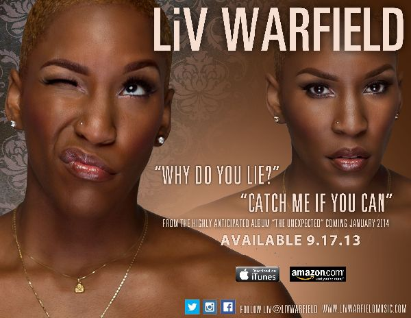 Liv Warfield Singles Promo Photo