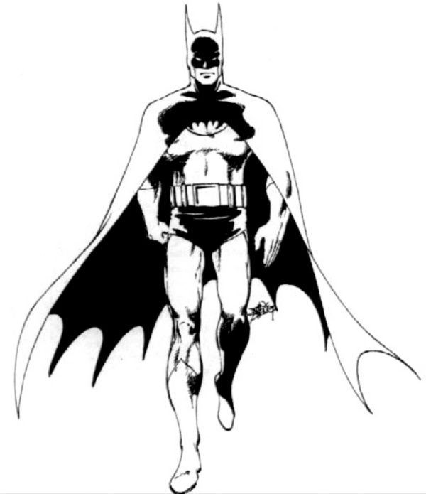 Batman Drawing Provided By ByrneRobotics.com