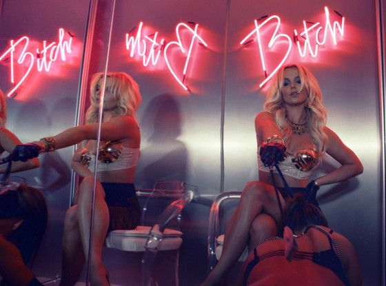 "Britney Spears ""Work Bitch"" Video Still"