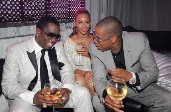 Diddy, Beyonce, & Jay Z Photo: xclusiveszone.net