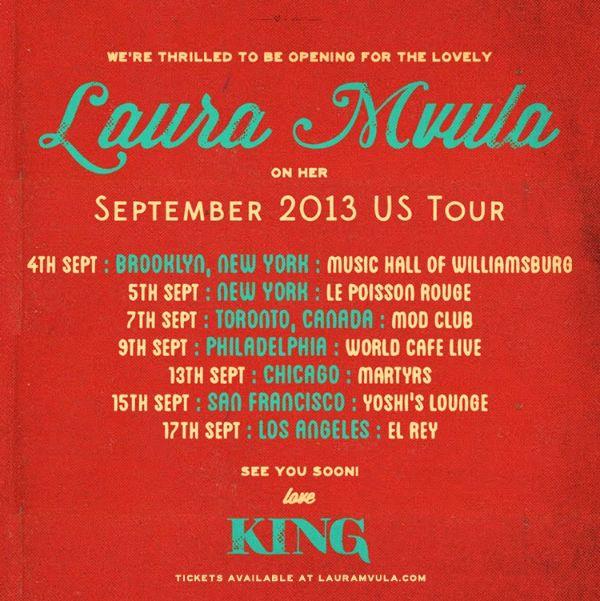 Laura Tour Promo Poster