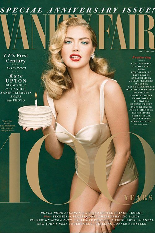 Kate Upton Photo: Annie Leibovitz for Vanity Fair