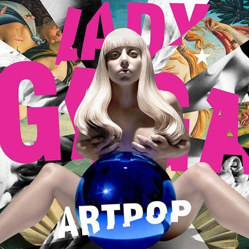Lady Gaga Artpop Cover