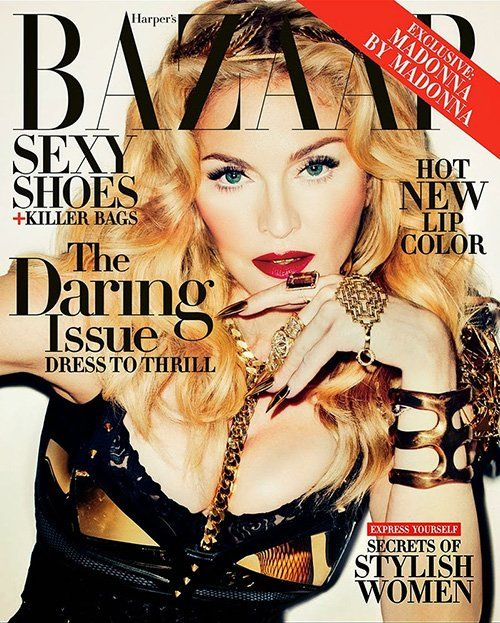 Madonna Photo: Terry Richardson for Harper's Bazaar UK