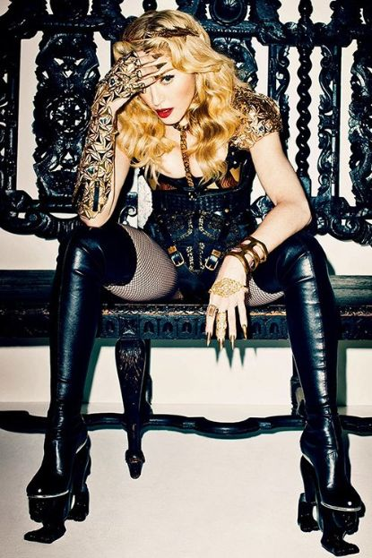 Madonna Photo: Terry Richardson for Harper's Bazaar UK