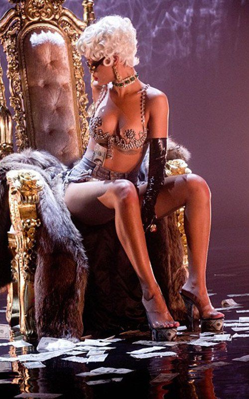Rihanna Pour It Up Video Still