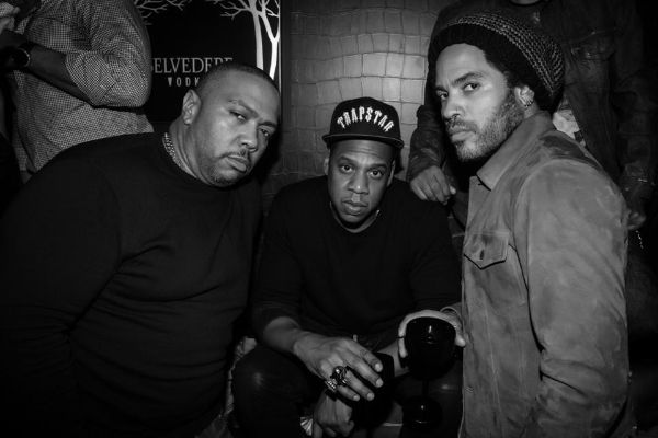 Timbaland, Jay Z, & Lenny Kravitz. Photo: Mathieu Bitton
