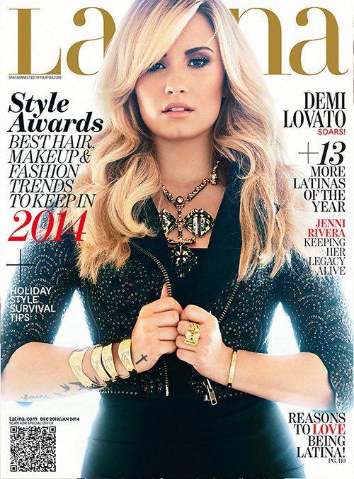 Demi Lovato Photo: Latina Magazine