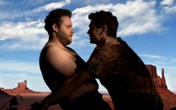 Seth Rogen & James Franco Bound Screen Cap
