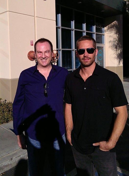 Bill Townsend & Paul Walker Photo: 11/30/13 Photo: Facebook