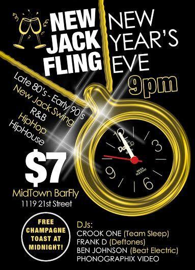 New Jack Fling Flyer