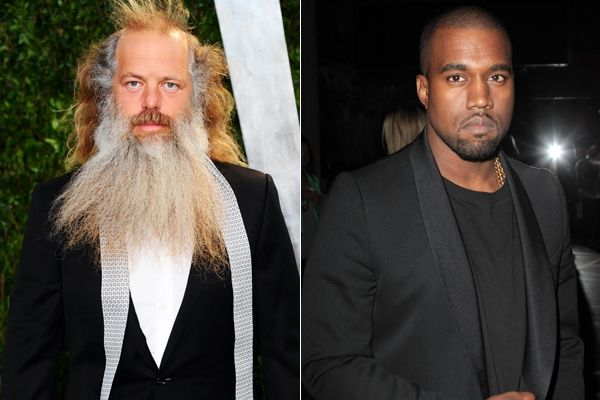 Rick Rubin & Kanye West Photo: RollingStone.com