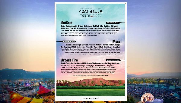 Coachella 2014 Line Up