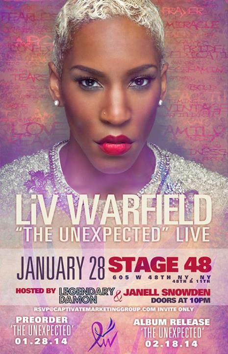 Liv Warfield Fallon/NYC
