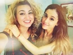 Tori Kelly & Ariana Grande Photo: Tori Kelly