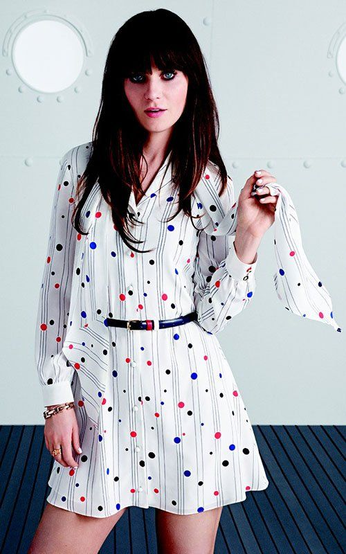 Zooey Deschanel Photo: Tommy Hilfiger