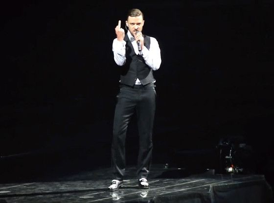 Justin Timberlake Photo: YouTube Screengrab