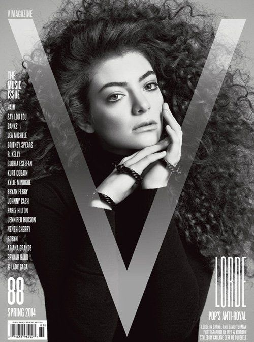 Lorde Photo: Inez & Vinoodh for V