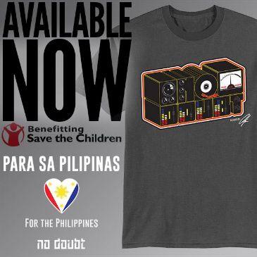 No Doubt Pilipinas Shirt