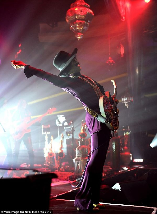 PRINCE Photo: WireImage.com
