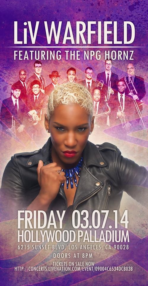 Liv Warfield L.A. Poster