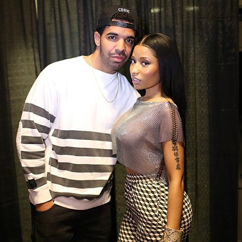 Drake & Nicki Minaj Photo: Instagram