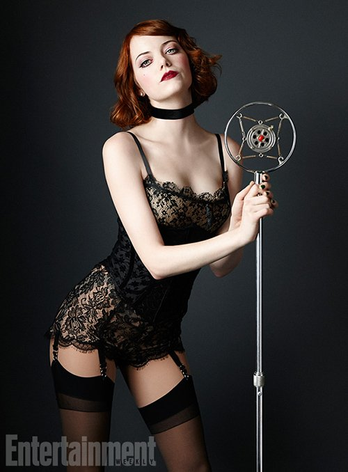 Emma Stone : Cabaret Photo: Entertainment Weekly
