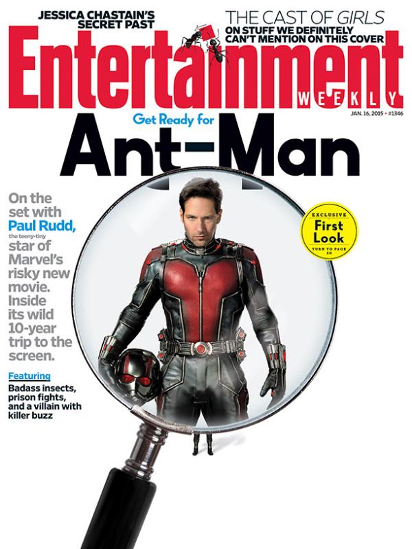 Paul Rudd As Ant-Man Photo: EW.com