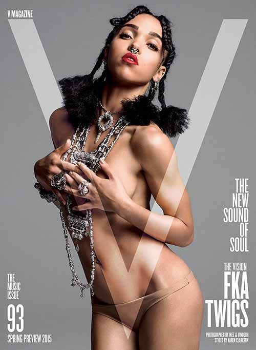 FKA Twigs Photo: V Magazine