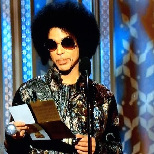 Prince Golden Globes 2015 Screen Cap Twitter.com/Baron3121