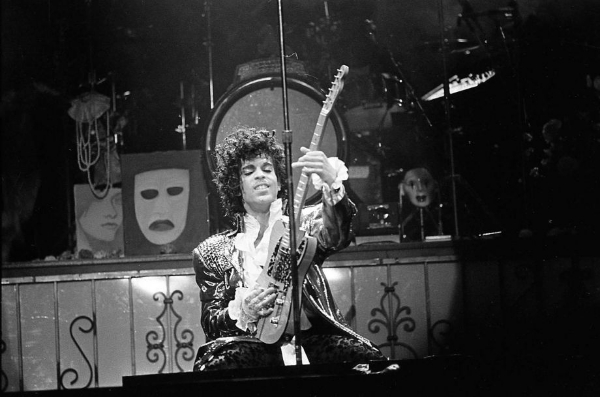 Prince Photo: Steve Campbell, Houston Chronicle